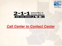Call Center To Contact Center 1 Contact Center