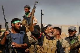 Image result for حشدالشعبی بزرگترین حمله داعش برای شکستن محاصره موصل را درهم شکست