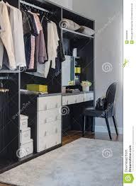 Closet Color Design Dark Color Scheme Modern Walk In Closet Design With Black