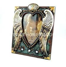 angel wings picture frame angel wing picture frames angel wings turquoise western rustic picture frame heart