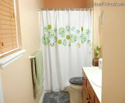 Fine Diy Shower Curtain Ideas To Change The Dcor Of Your Bathroom With Intended Design Decorating