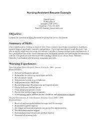 Assistant Practitioner Sample Resume Resume Resume Sample For Nurses 6