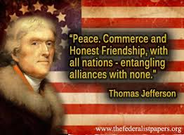 Thomas Jefferson Quote Best Thomas Jefferson Quote Peace And Commerce With All