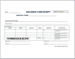 Deposit Receipt Sample Non Refundable Deposit Receipt Template Receipt Templates
