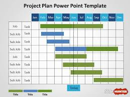 schedule plan template free project plan powerpoint template