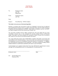 How To Write Disciplinary Letter Magdalene Project Org