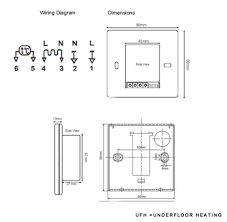 nuheat solo thermostat wiring diagram wiring diagram schematics 5 wire thermostat diagram nodasystech com