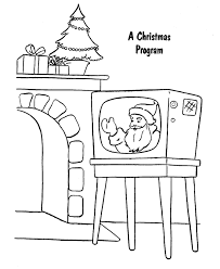 Christmas Program Theme Bluebonkers Christmas Theme Coloring Pages 8