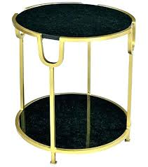 black and gold coffee table marble top gold coffee table frame black accent side and square