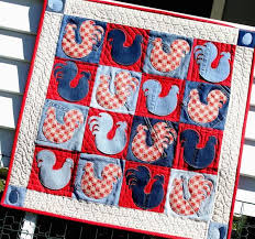 Easy Appliqué Quilt Design: 6 Patterns to Admire & If you think appliqué is too time-consuming, perhaps these easy appliqué  ideas will help change your mind! full_9301_34546_TheChickenPatch_1 Adamdwight.com