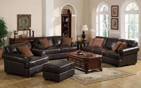 brown leather sofa sets. Simple Sets In Brown Leather Sofa Sets O