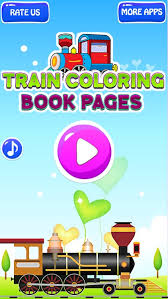 Coloring pages are fun for children of all ages and are a great educational tool that helps children develop fine motor skills, creativity and color. Train Coloring Book Games By Muhammad Haider