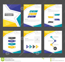 blue green annual report brochure flyer presentation template yellow green presentation template annual report brochure flyer elements icon flat design set for advertising marketing