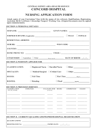 employment application form for nurse employment application nursing internet application for employment form by hiv17219