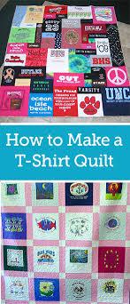 Quick and Easy T-Shirt Quilt Tutorial | Quilt tutorials, Shirt ... & Quick and Easy T-Shirt Quilt Tutorial Adamdwight.com