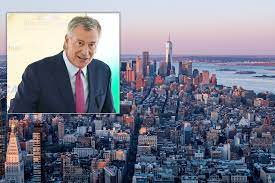 De Blasio says hotels are filling up as ...