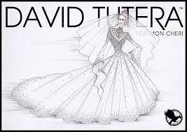 Wedding Dress Designer Games Could Katniss Hunger Games Catching Fire Wedding Dress