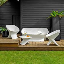white outdoor furniture. white garden furniture from john lewis outdoor l