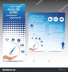 Modern Brochure Design Modern Brochure Design Template Icons Stock Vector 24 22