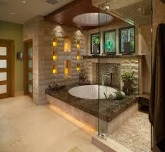 custom bathroom lighting. Limestone Sculpture Bathroom Asian With Wood Door Casing Towel Racks And Stands Custom Lighting S