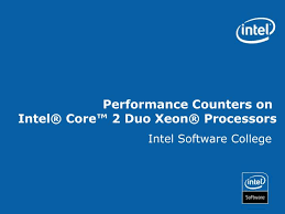 Core 2 Duo Performance Chart Ppt Performance Counters On Intel Core 2 Duo Xeon