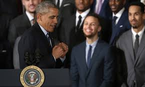 Steph Curry And President Obama Erupt A Volcano Together In Magnificent Barack Obama Resume