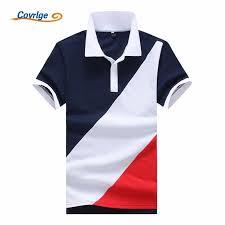 <b>Covrlge 2018 New</b> Fashion Brand <b>Men</b> Polo Shirt Solid Short ...