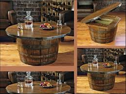 reversible reclaimed wine barrel. Wonderful Wine Barrel Coffee Table Reversible Reclaimed Half And Small Exterior Inspiration A