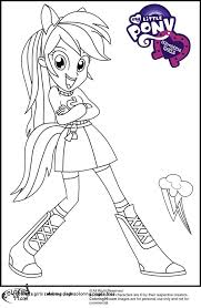 Equestria Girls Coloring Pages Best Of Beautiful My Little Pony