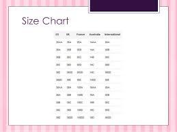 Vs Pink Size Chart Victorias Secret