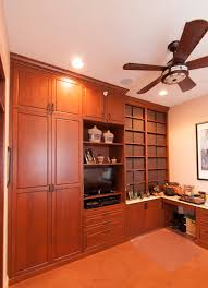kitchen cabinets home office transitional: cherry custom home office desk and storage in upper marlboro maryland transitional home