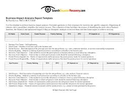 Sample Report Template For Business Short Business Report Template