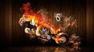 moto tiger fantasy fire