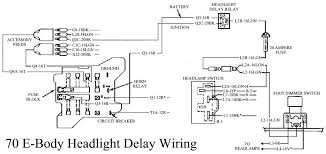 picture of 70 headlight delay wiring harness needed moparts 5043508 70e bodyheadlightdelaywiring jpg