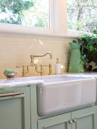 Enchanting Farm Sink Faucet In The Traditional Kitchen Beautiful