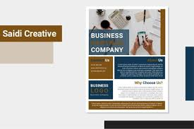 Editable Flyer Template Free Business Flyer Template Word Document Fully Editable
