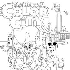 Small Picture The Hero of Color City Coloring Book