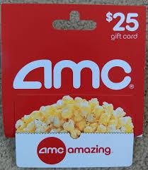 25 amc gift card