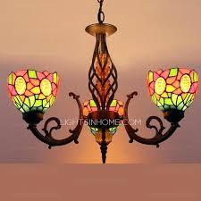 color glass chandelier multi shade 3 light antique chandeliers for colored blown color glass chandelier