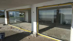 frameless sliding glass doors installation