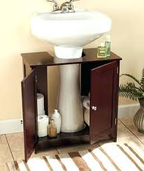 under sink pedestal storage wonderful under pedestal sink storage cabinet bathroom pedestal sink storage cabinet designs