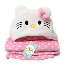 3d animal hooded baby blanket