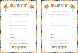 invitations to print free print birthday invitations tanieprzeprowadzki info