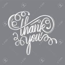 Thank You Cursive Font Digitally Generated Thank You In Cursive Script