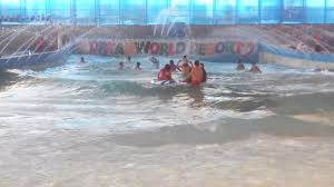 DREAM WORLD WATER PARK LUCKNOW WAVE POOL - YouTube