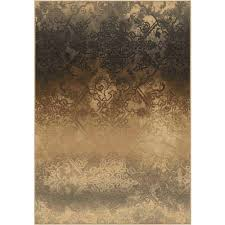 orian rugs indoor damask batika pewter area rug