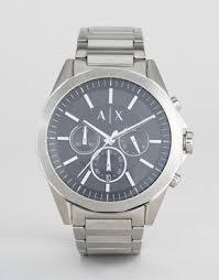 armani exchange shop men s armani exchange watches shoes asos armani exchange ax2600 chronograph bracelet watch