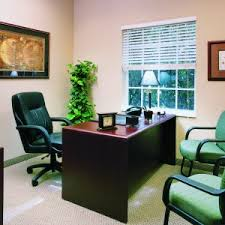 simple small space doctor office. Small Office Room Design Style, Brown Wooden Table, Black Leather Swivel Chair . Simple Space Doctor C