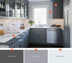 Kitchen Staggering Kitchen Cabinet And Countertop Color