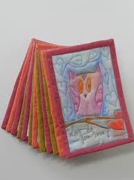 2014 Fabric Postcards/Mini Quilts - Kristin Shields Quiltmaker & 065 Adamdwight.com